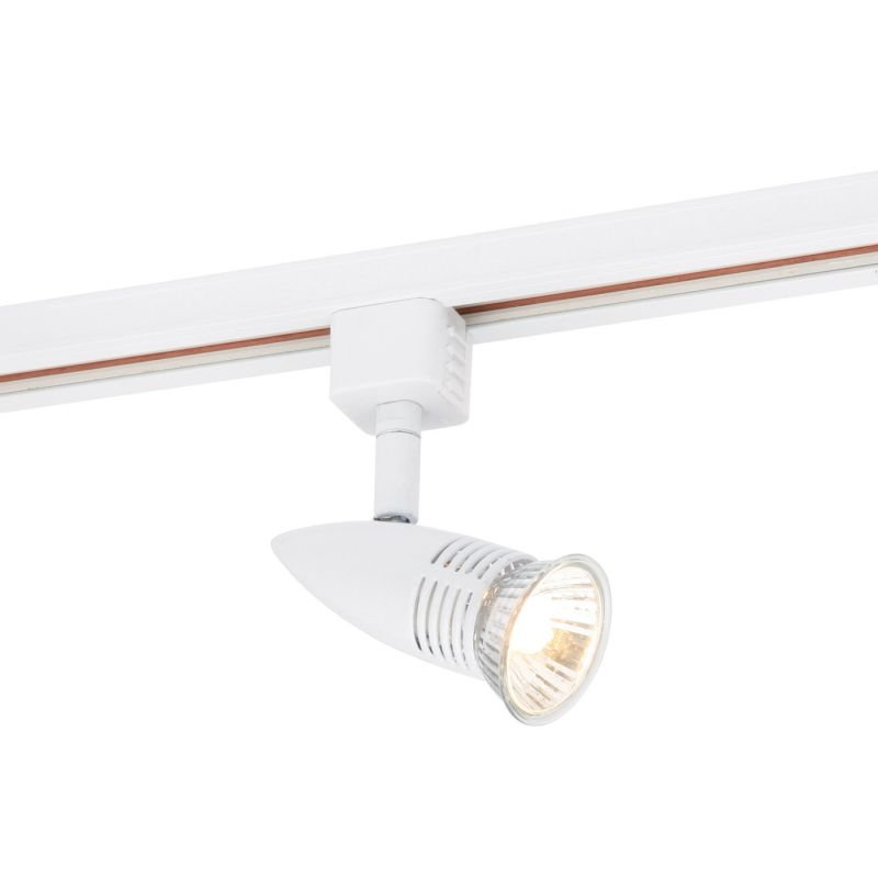 Saxby-3TH139W - Conor - Gloss White Track Head Spotlight