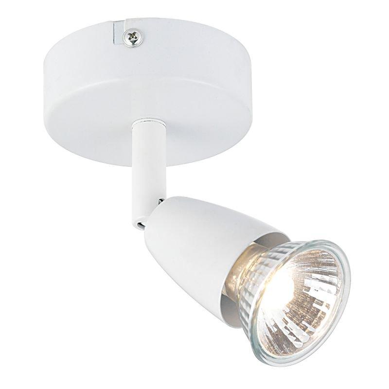 Saxby-43281 - Amalfi - Gloss White Single Spotlight