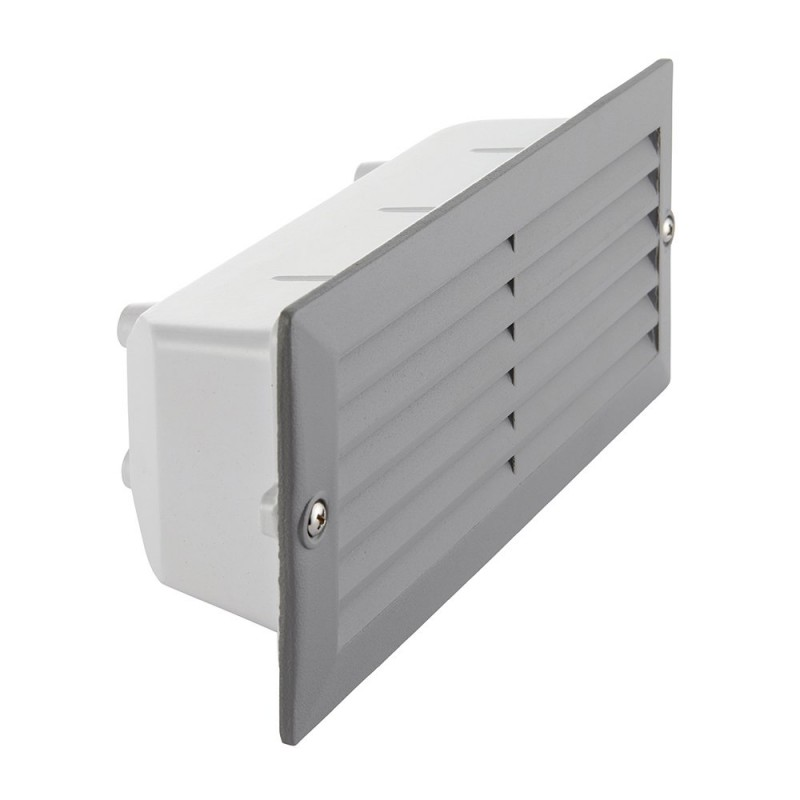 Saxby-52213 - Eco - Textured Grey & Frosted Glass Brick Light