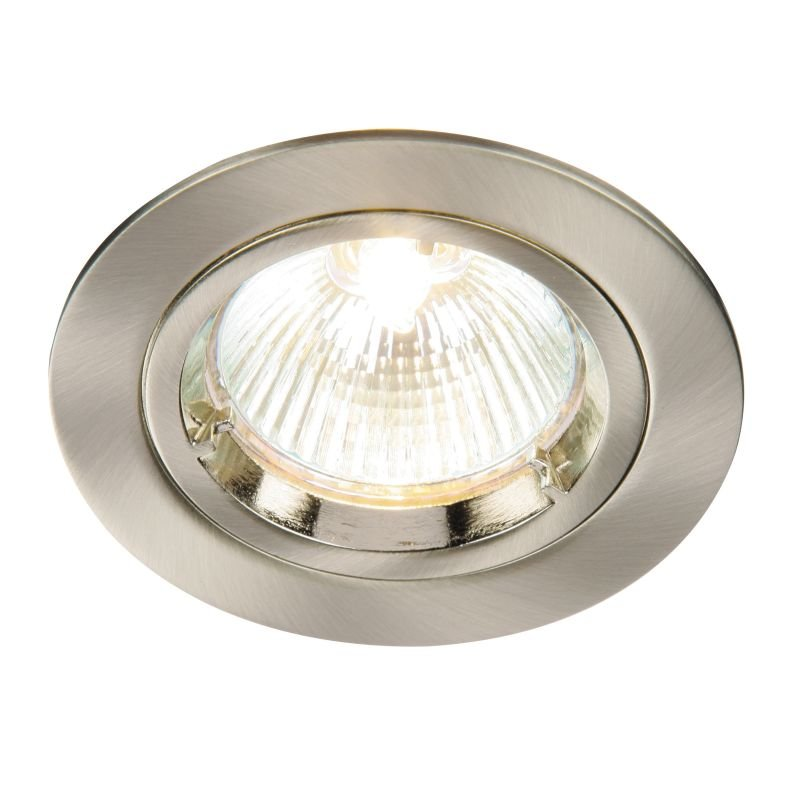 Saxby-52330 - Cast Fixed - Satin Nickel Recessed Downlight