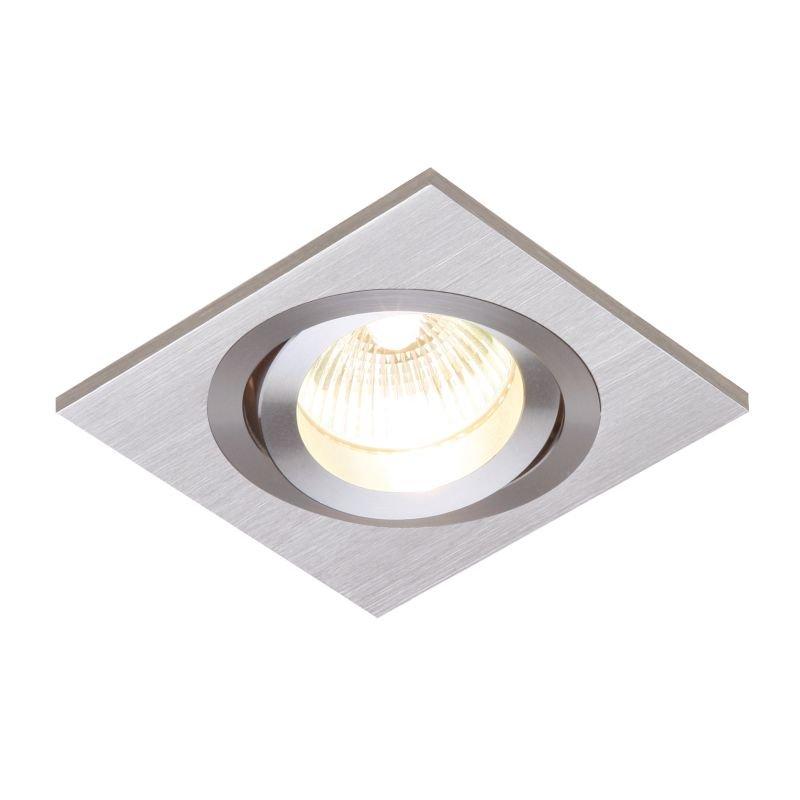 Saxby-52403 - Tetra - Square Aluminium Recessed Downlight