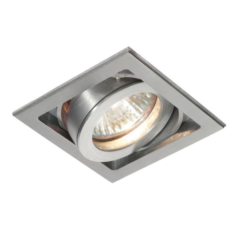 Saxby-52407 - Xeno - Square Aluminium Recessed Downlight