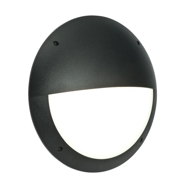 Saxby-55690 - Seran - LED Black & White Eyelid Bulkhead