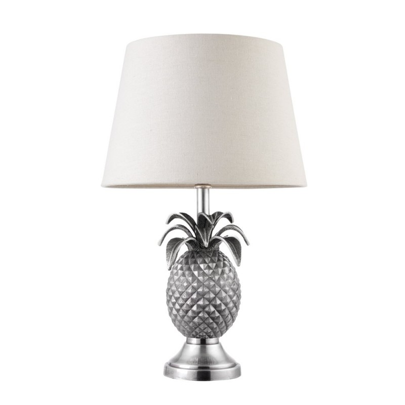 Endon-EH-PINEAPPLE-TL - Pineapple - Silver Pineapple Table Lamp - Only Base