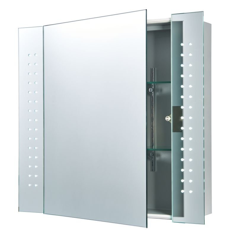 Saxby-60894 - Ravelo - LED Cabinet Mirror with Shaver Socket