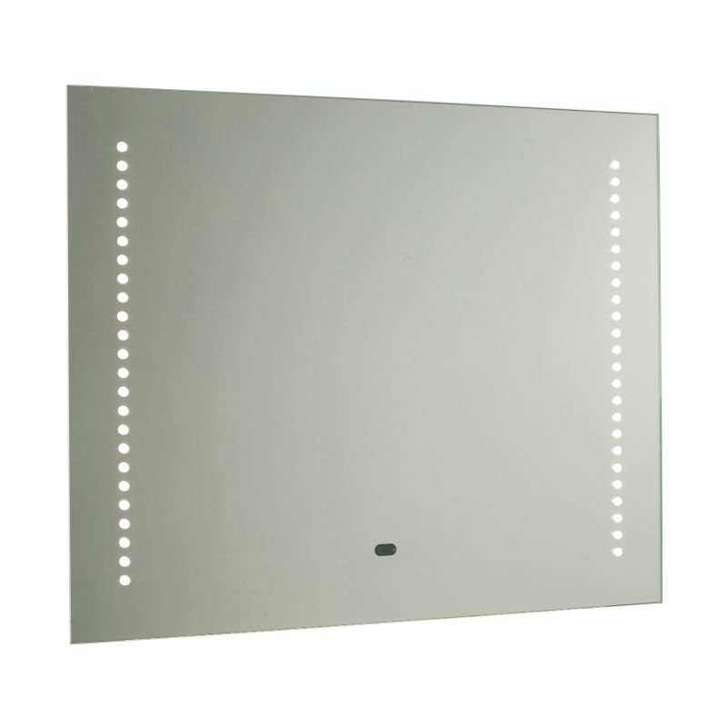 Saxby-60895 - Rift - LED Bathroom Mirror with Shaver Socket
