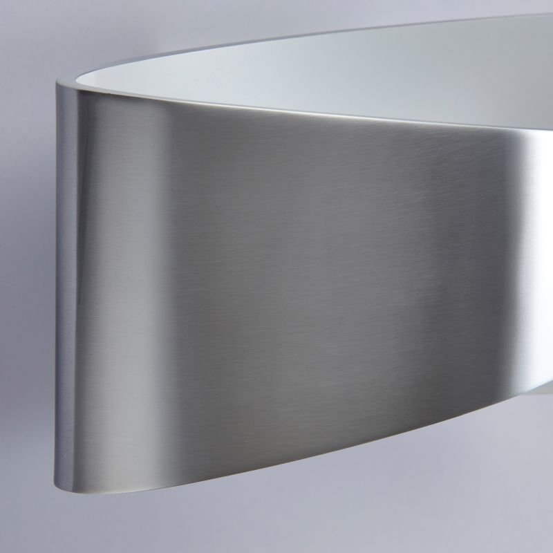 Endon-61031 - Jenkins - LED Aluminium with Matt White Wall Lamp