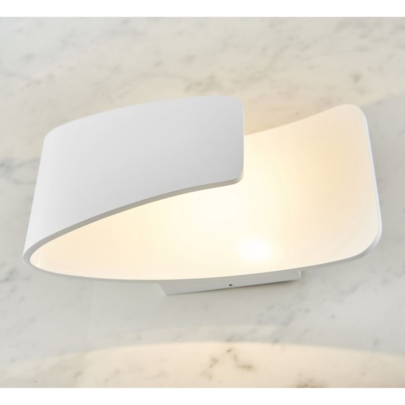 Endon-61032 - Jenkins - LED Matt White Wall Lamp