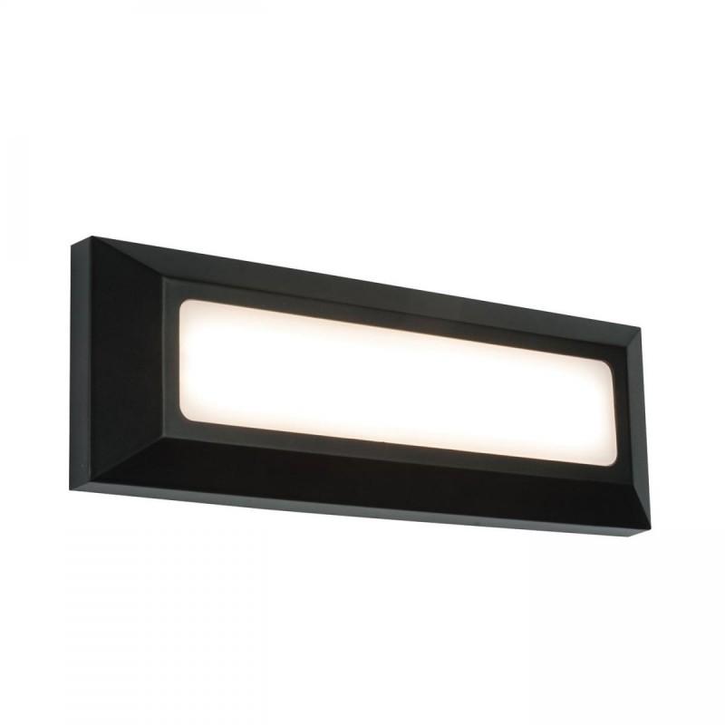 Saxby-61211 - Severus Black - LED Black Surface Brick Light