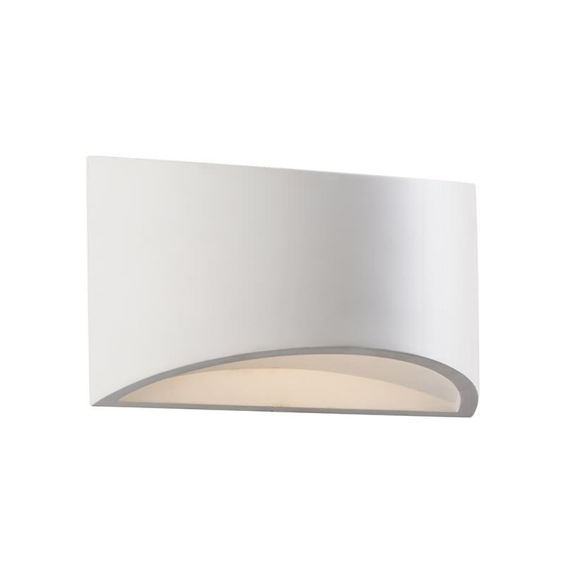 Saxby-61639 - Toko - LED White Plaster Up&Down Wall Lamp