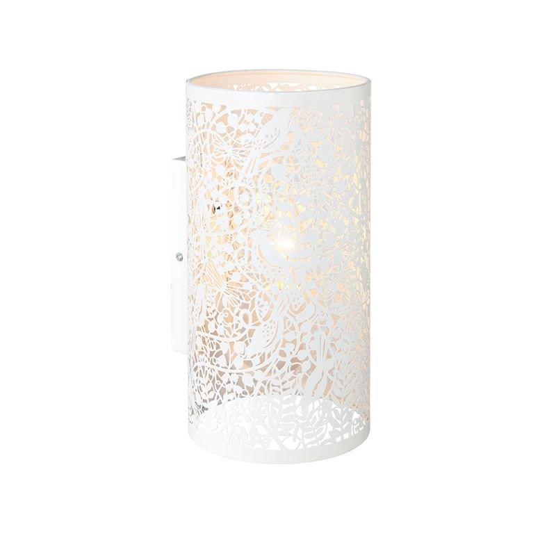 Endon-61684 - Secret Garden - Matt Ivory Wall Lamp