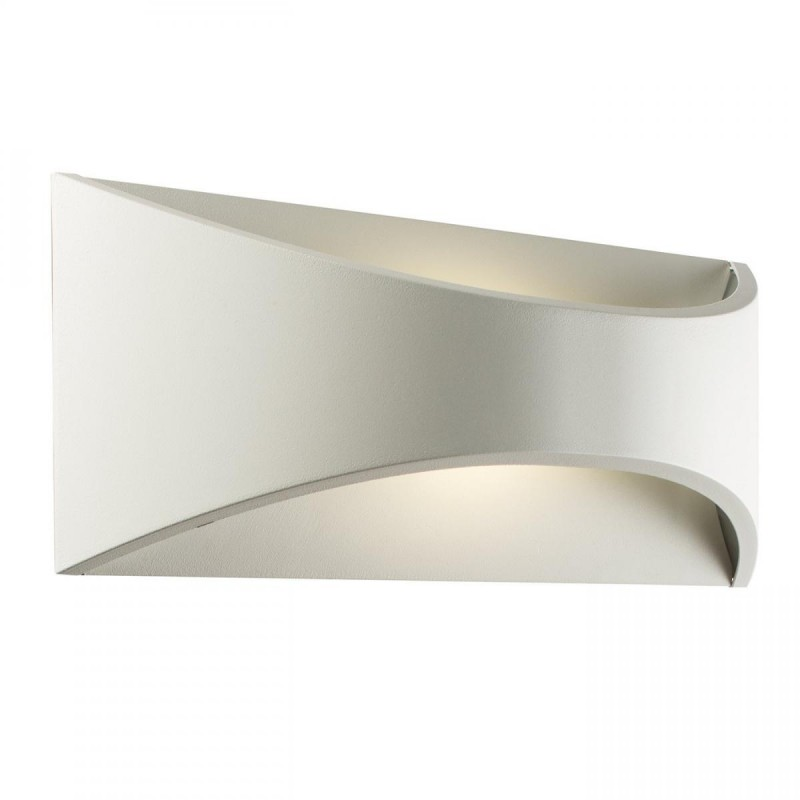 Saxby-61866 - Vulcan - Outdoor LED White Big Wall Lamp