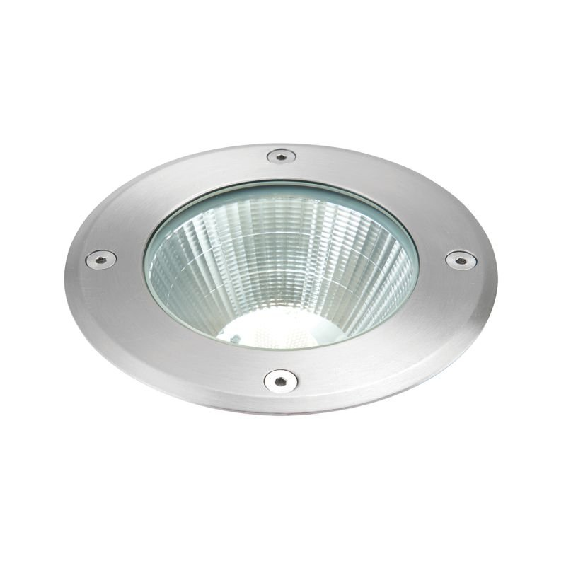 Saxby-67405 - Ayoka - LED 6500K Brushed Stainless Steel Recessed Light