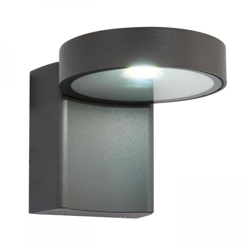 Saxby-67695 - Oreti - LED Textured Anthracite Grey Up&Down Wall Lamp