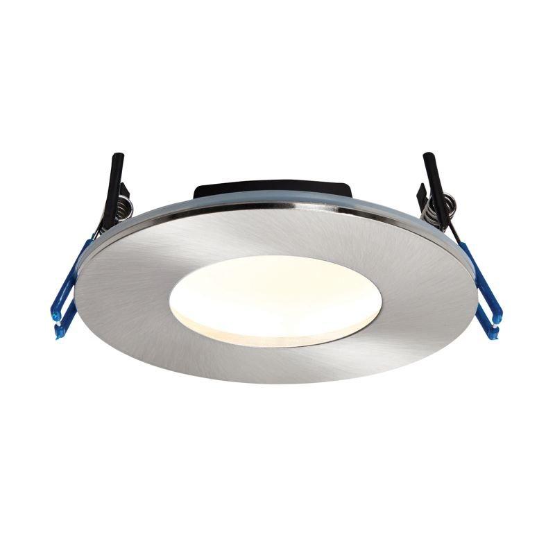 Saxby-69881 - OrbitalPlus - LED Satin Nickel Recessed Downlight 3000K
