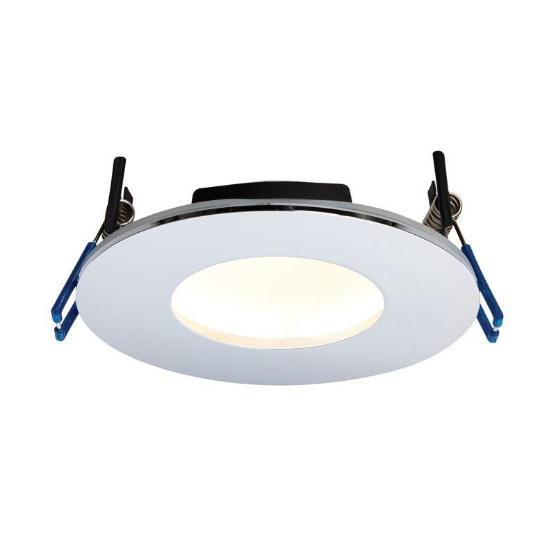 Saxby-69882 - OrbitalPlus - LED Chrome Recessed Downlight 3000K