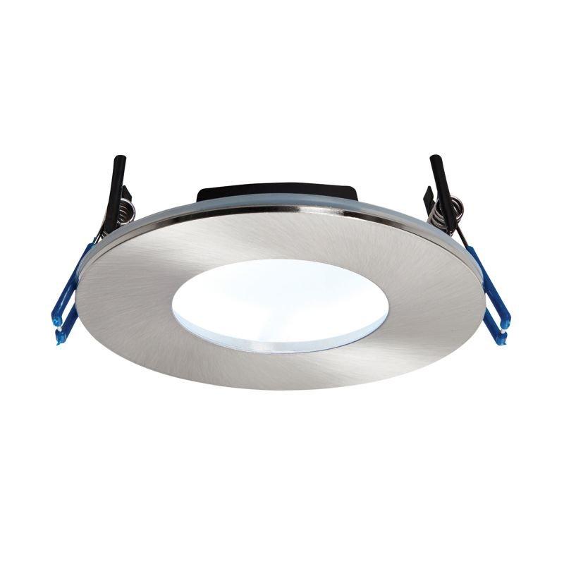 Saxby-69884 - OrbitalPlus - LED Satin Nickel Recessed Downlight 5000K