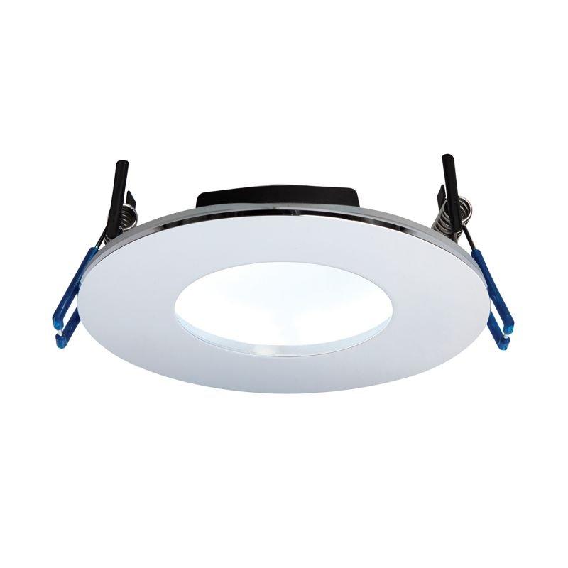 Saxby-69885 - OrbitalPlus - LED Chrome Recessed Downlight 5000K