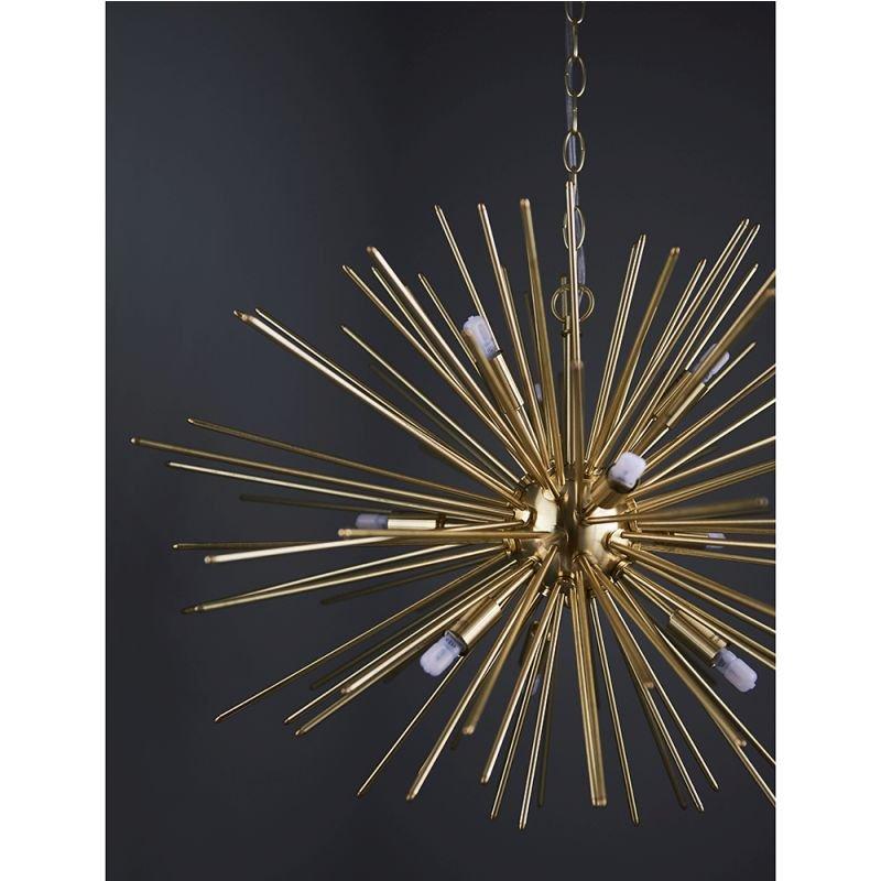 Endon-70575 - Orta - Brushed Gold 9 Light Sputnik Pendant
