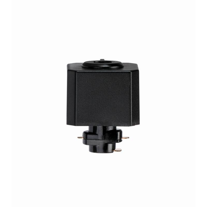 Saxby-71896 - Adaptor - Black Track Pendant Adaptor