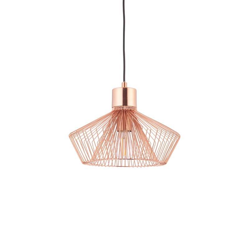 Endon-72813 - Kimberley - Copper Twist Cage Pendant