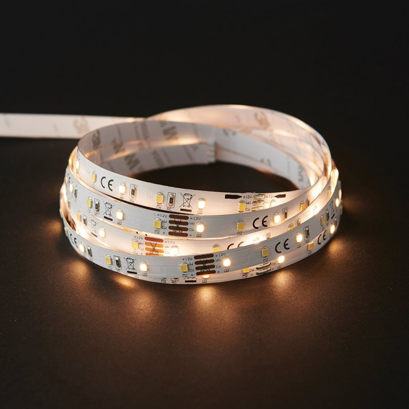 Saxby-73666 - Flexline CCT - LED Strip Lighting Kit 5m 24W