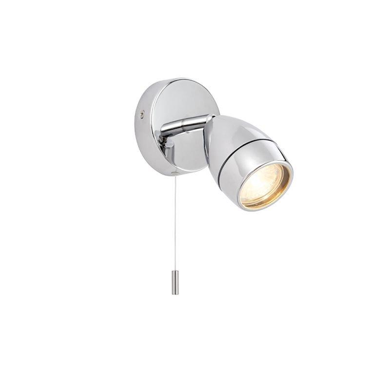 Endon-73691 - Porto - Bathroom Polished Chrome Single Spotlight