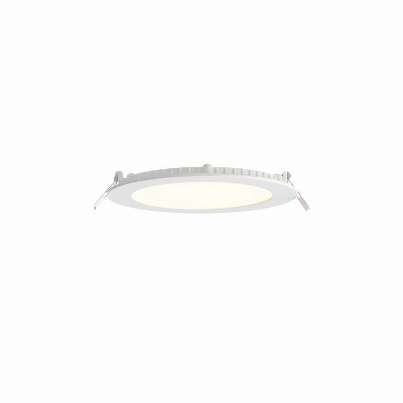 Saxby-73811 - SirioDISC - LED 3000K Ø17 White Recessed Downlight