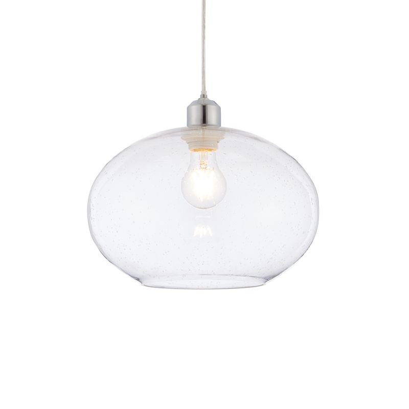 Endon-73974 - Dimitri - Clear Glass Shade for Pendant