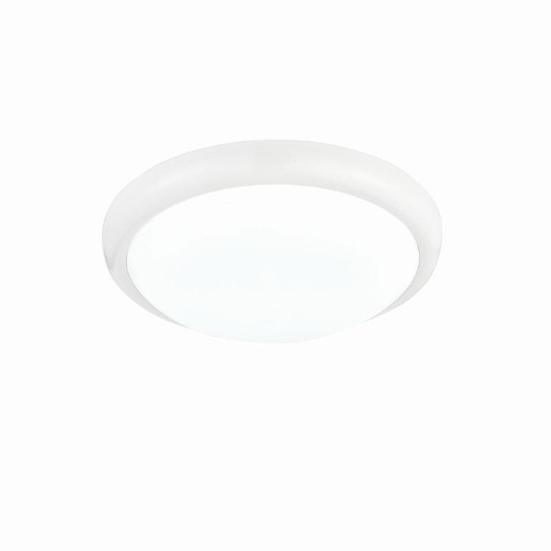 Saxby-74767 - Montana - LED Round White Flush