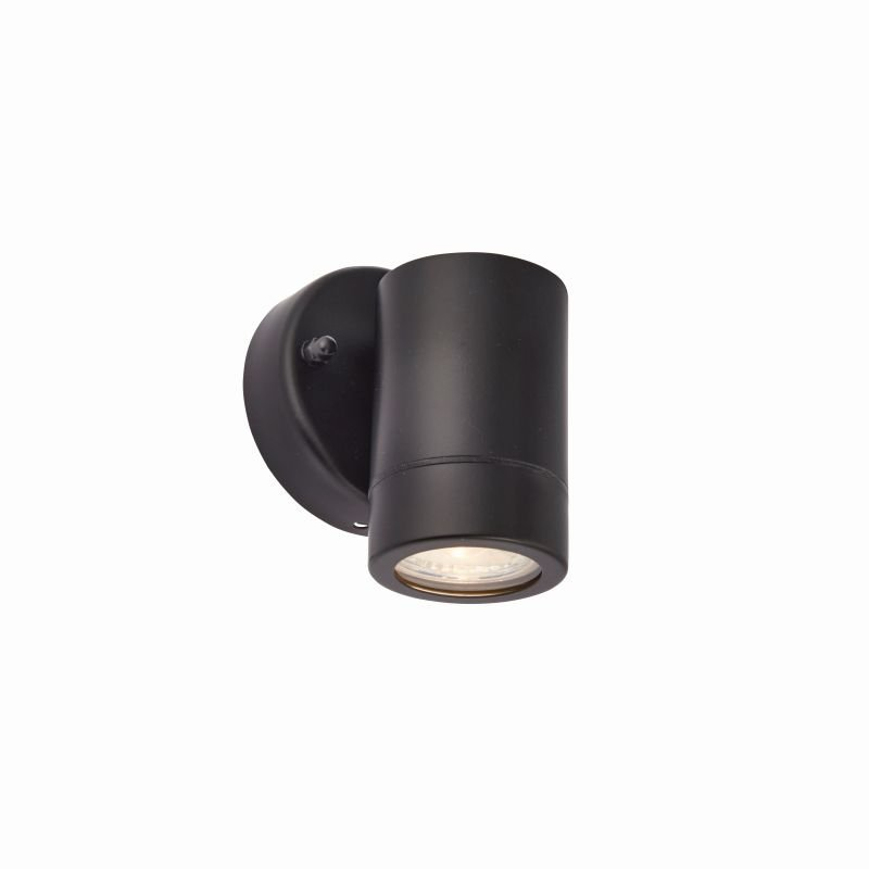 Saxby-75434 - Palin - Outdoor Black Downlight Wall Lamp