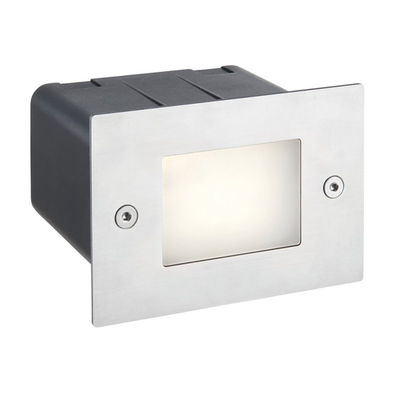 Saxby-75528 - Seina - LED Marine Grade Stainless Steel Half Brick Light