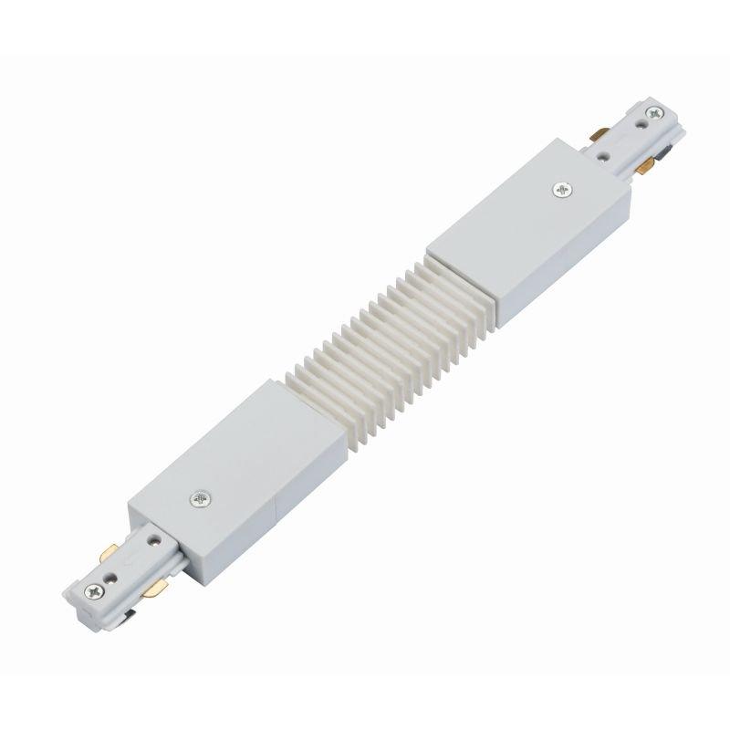 Saxby-75535 - Connector - White Track Flexible Connector