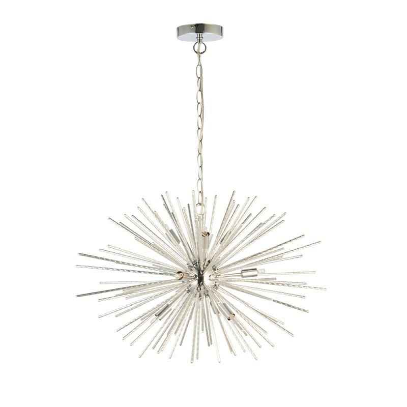 Endon-76350 - Lena - Polished Chome 9 Light Sputnik Pendant