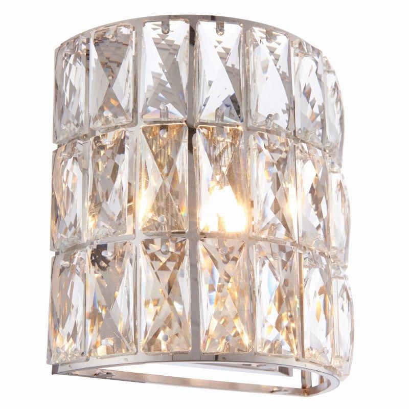 Endon-76515 - Verina - Crystal with Polished Chrome Wall Lamp