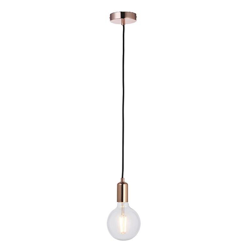 Endon-76578 - Studio - Copper & Black Suspension E27