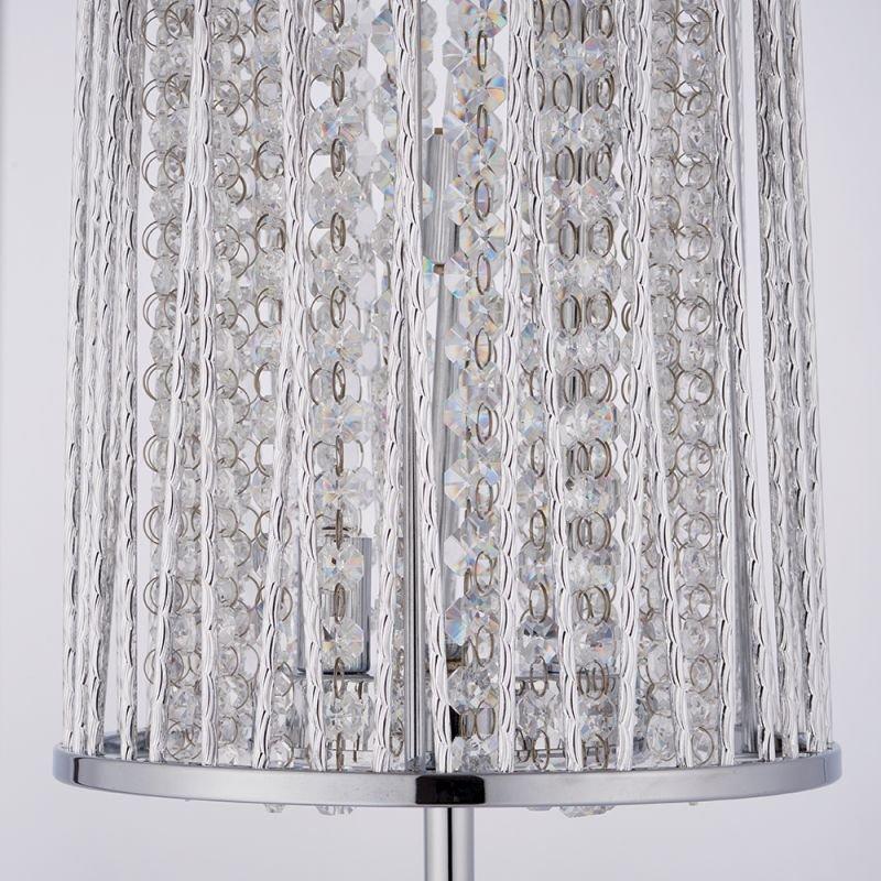 Endon-76723 - Sophia - Crystal & Chrome Floor Lamp