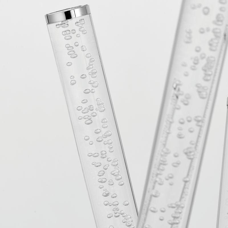 Endon-76771 - Glacier - LED Clear & Polished Chrome Table Lamp