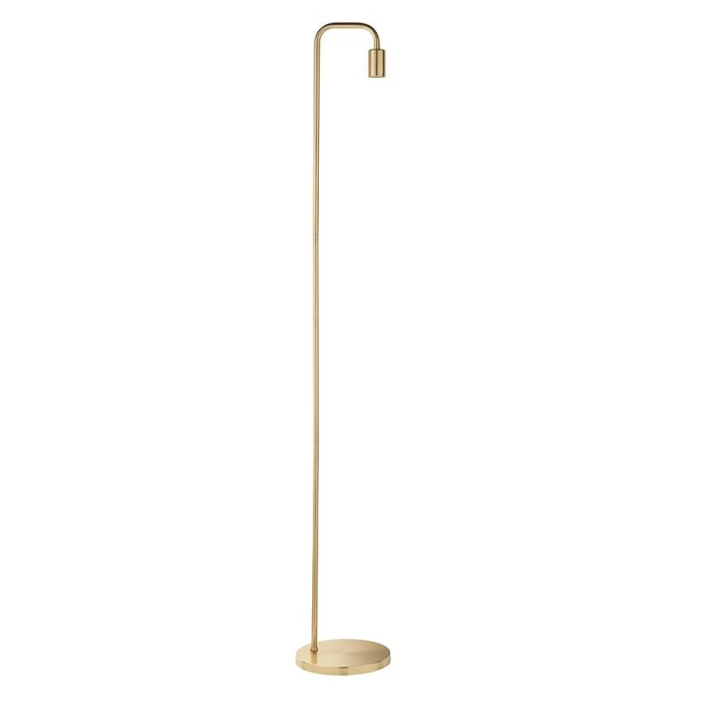 Endon-76983 - Rubens - Brushed Brass Floor Lamp