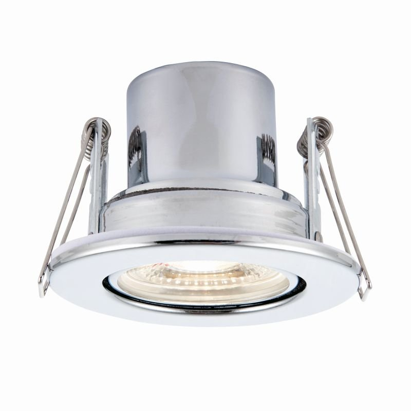 Saxby-78525 - ShieldECO 800 Tilt - LED Adj. Chrome Recessed Downlight 4000K
