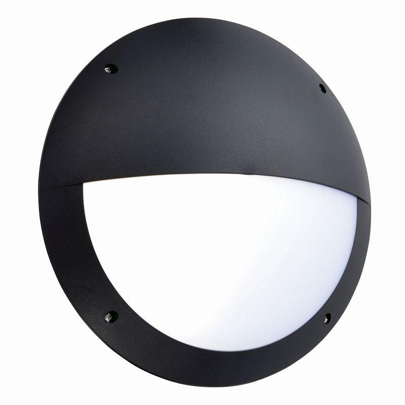 Saxby-78608 - Seran - LED Black & White Eyelid Microwave Bulkhead