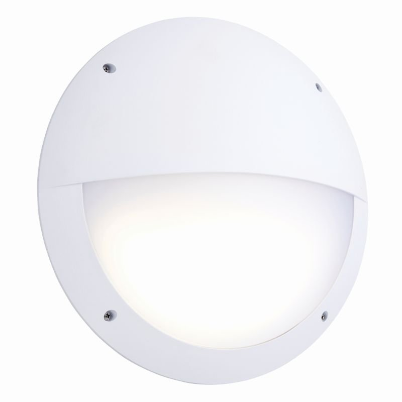 Saxby-78610 - Seran - LED White Eyelid Microwave Bulkhead