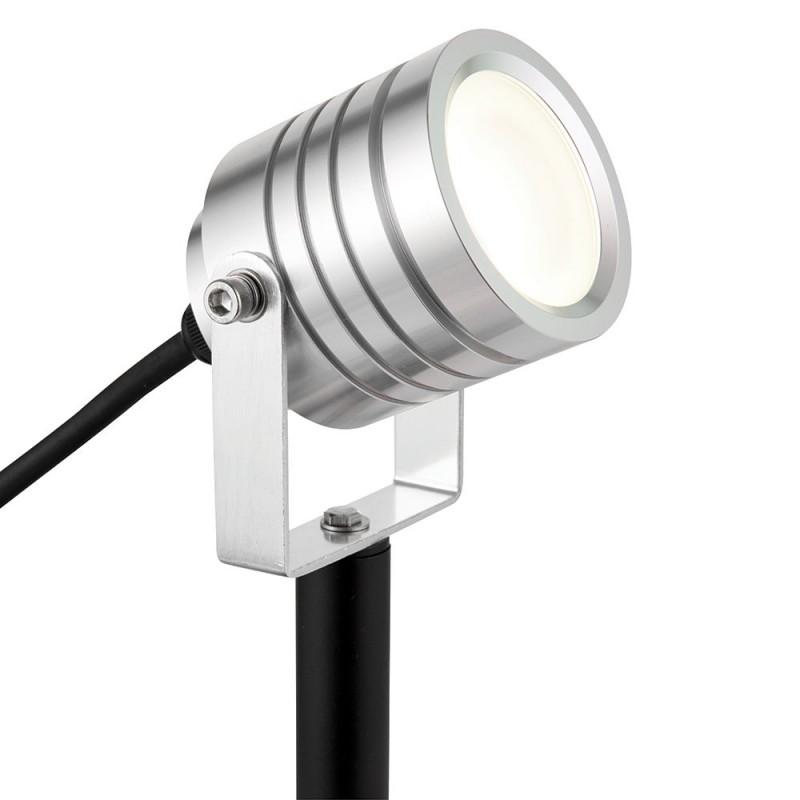 Saxby-78635 - Luminatra - LED Silver Spike Spot