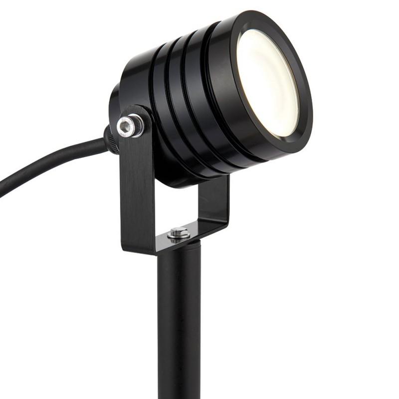 Saxby-78636 - Luminatra - LED Black Spike Spot