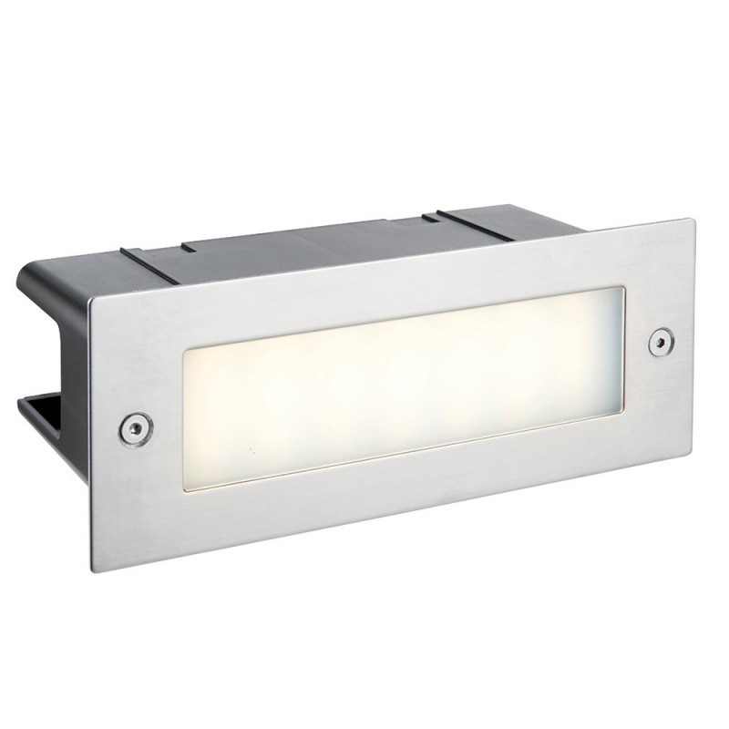 Saxby-78637 - Seina - LED Marine Grade Stainless Steel Brick Light
