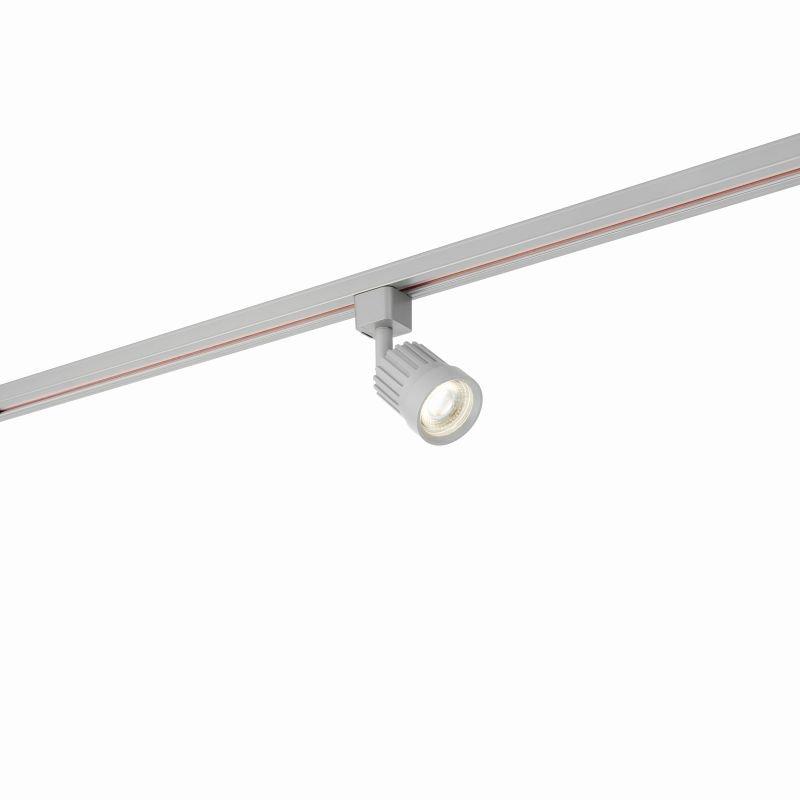 Saxby-78961 - Pacto - LED 4000K Silver Track Head Spotlight