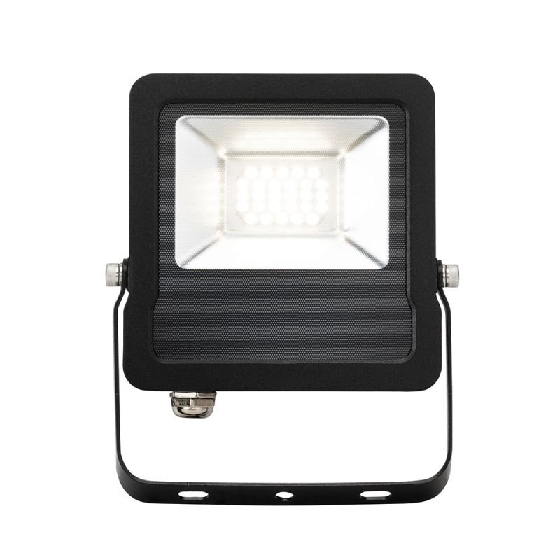 Saxby-78964 - Surge - Outdoor LED Black Floodlight 20W