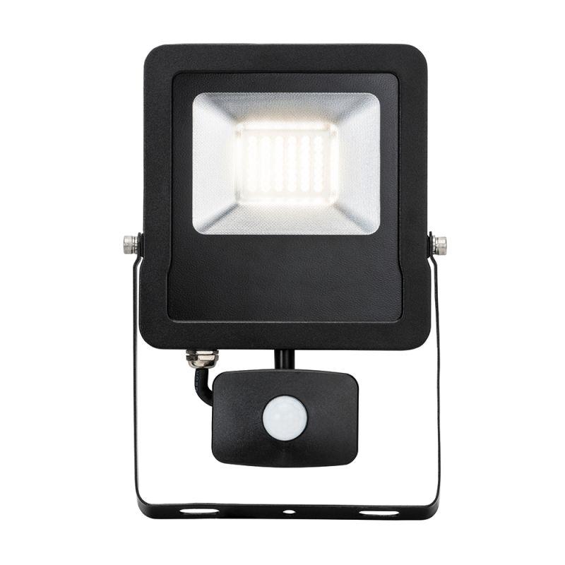 Saxby-78967 - Surge PIR - Outdoor LED Black Floodlight with Sensor 30W