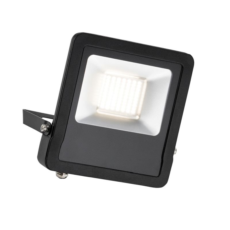 Saxby-78968 - Surge - Outdoor LED Black Floodlight 50W