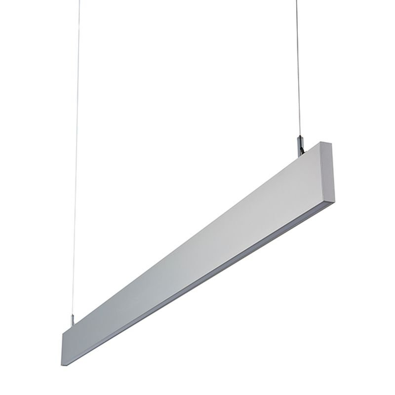 Saxby-78978 - Kingsley - LED Slim Silver Linear Profile